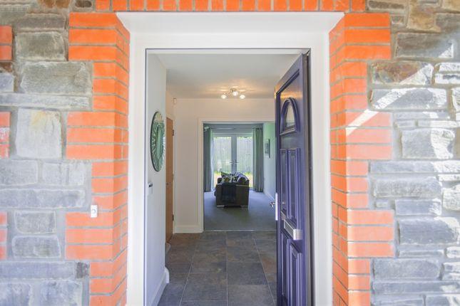 Thumbnail Detached house for sale in Crib Y Lan, Main Road, Gwaelod-Y-Garth