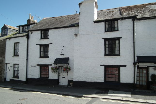 Thumbnail Cottage for sale in Fore Street, West Looe, Cornwall