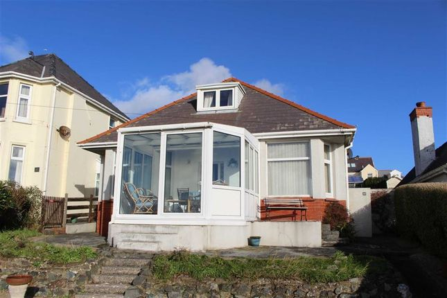 Thumbnail Detached bungalow for sale in Hayston Avenue, Hakin, Milford Haven