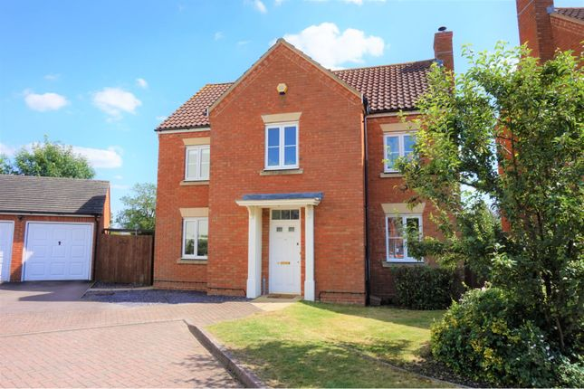 Thumbnail Detached house for sale in Marston Moretaine, Bedford