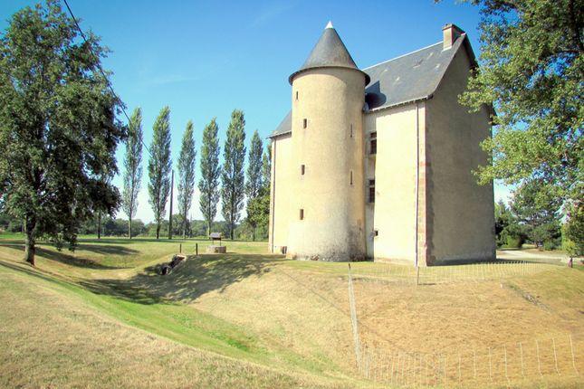 Thumbnail Château for sale in St Maurice La Souterraine, Creuse, Nouvelle-Aquitaine