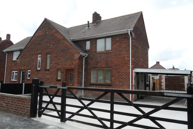 Thumbnail Semi-detached house for sale in Edward Road, Skellow, Doncaster