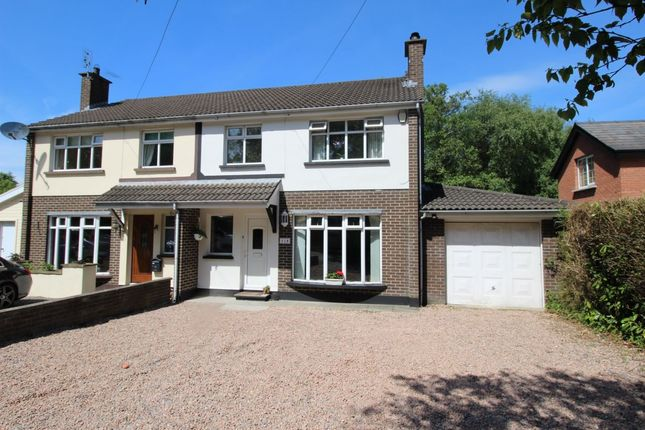 Thumbnail Semi-detached house for sale in Rathgael Road, Bangor