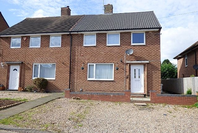 Thumbnail Semi-detached house to rent in Ormscliffe Road, Rednal