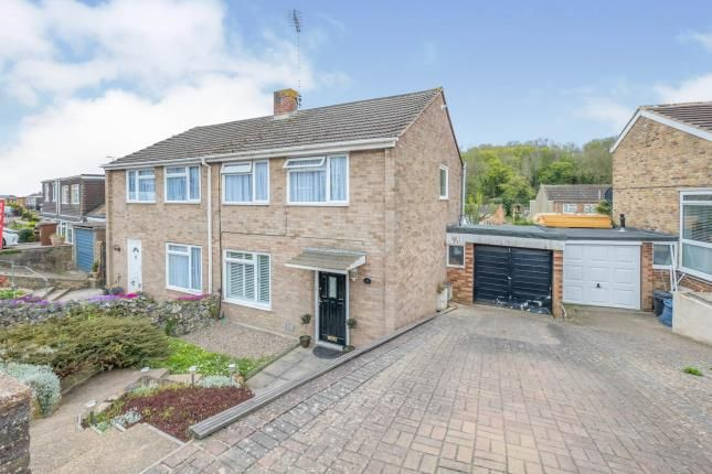 Thumbnail Semi-detached house for sale in Ranscombe Close, Strood, Rochester, Kent