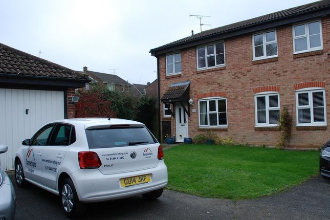 Thumbnail Semi-detached bungalow to rent in The Wickets, Burgess Hill