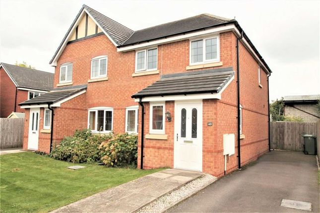 Thumbnail Semi-detached house for sale in Heritage Way, Llanymynech