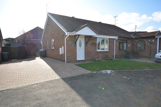 Front Elevation of Whitby Close, Bishop Auckland DL14
