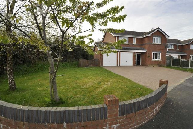 Thumbnail Detached house for sale in The Brackens, Buckley