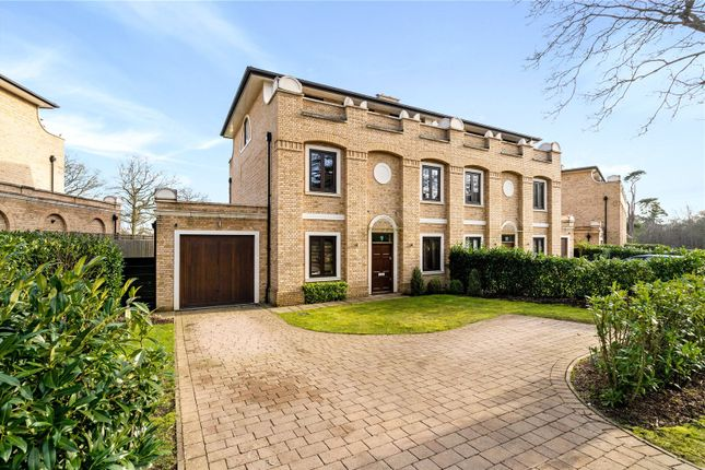 Thumbnail Semi-detached house to rent in Clarence Park Crescent, Stanmore, Middlesex