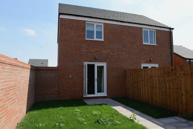 Rear Garden of Winding House Drive, Hednesford, Cannock WS12