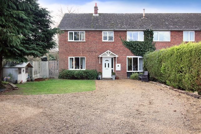 Thumbnail Semi-detached house for sale in St. Edmunds Road, Lingwood, Norwich