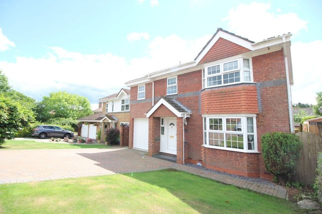 Thumbnail Detached house for sale in Fielding Court, Crook