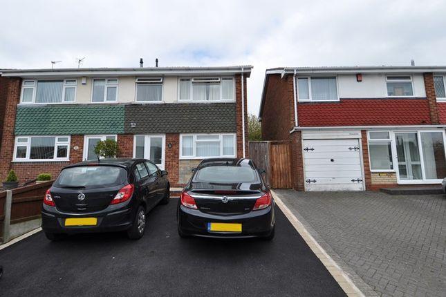 Thumbnail Semi-detached house to rent in Parkside, Quinton, Birmingham