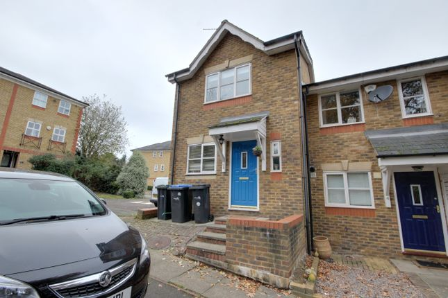Thumbnail End terrace house for sale in Macleod Road, Winchmore Hill