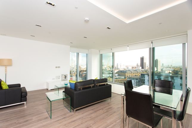 Thumbnail Flat to rent in Goodman's Field, Satin House, Aldgate