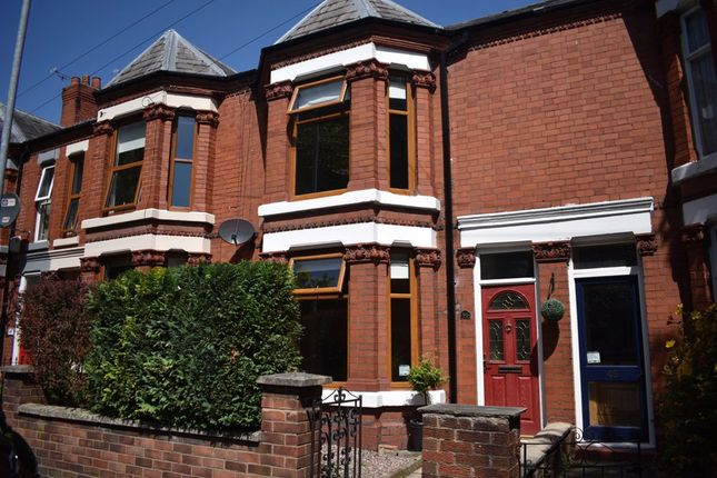 Thumbnail Terraced house to rent in Gainsborough Road, Crewe, Cheshire