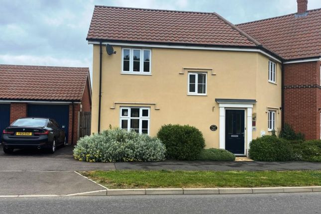 Semi-detached house for sale in Stowmarket, Suffolk IP14