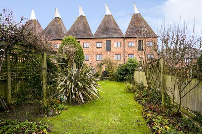 Thumbnail Terraced house for sale in Oast Court, Yalding, Maidstone