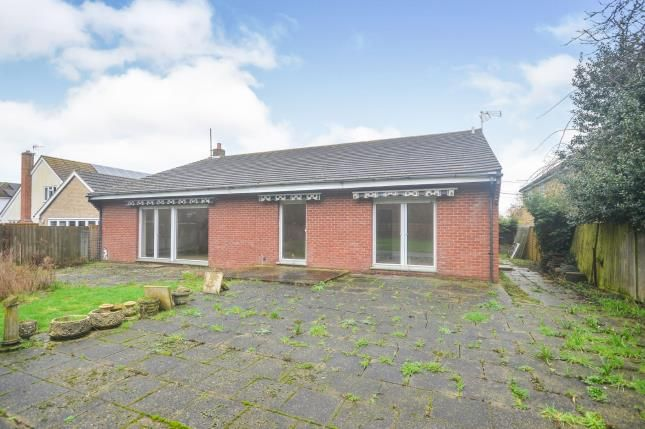 Thumbnail Bungalow for sale in Ashford Road, Newingreen, Hythe, Kent