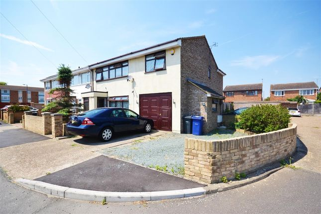 Thumbnail End terrace house for sale in Clyde, East Tilbury, Tilbury