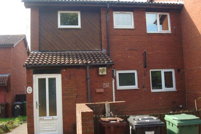 Thumbnail Flat to rent in Hambledon Close, Pendeford, Wolverhampton, West Midlands