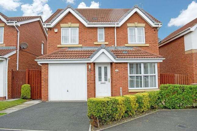 Thumbnail Detached house for sale in Manor Gardens, Wardley, Gateshead