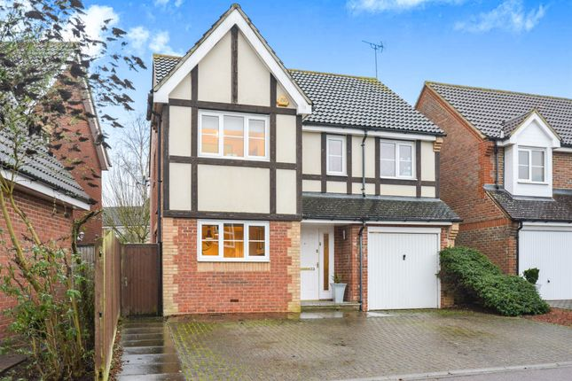 Thumbnail Detached house for sale in Dowding Way, Leavesden, Watford