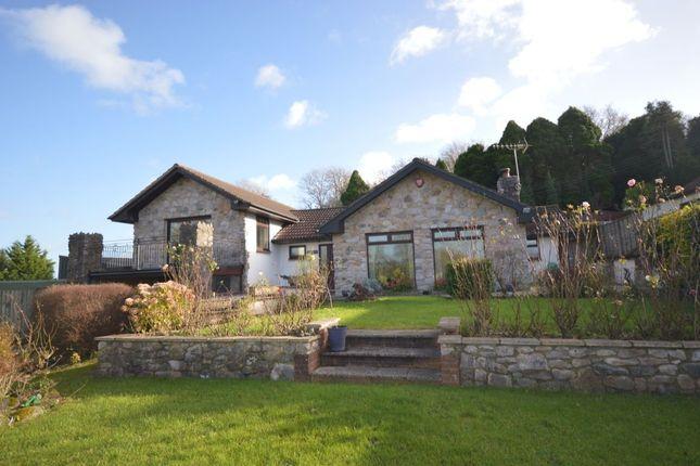 Thumbnail Detached house to rent in Oak Croft, Two Mile Oak, Newton Abbot