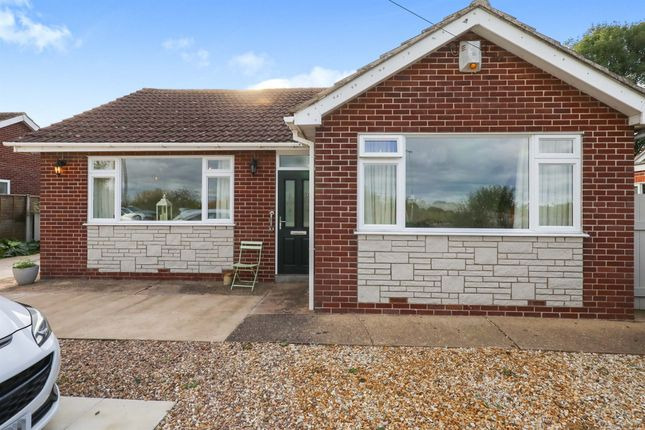 Thumbnail Detached bungalow for sale in Old Haxey Road, Misterton, Doncaster