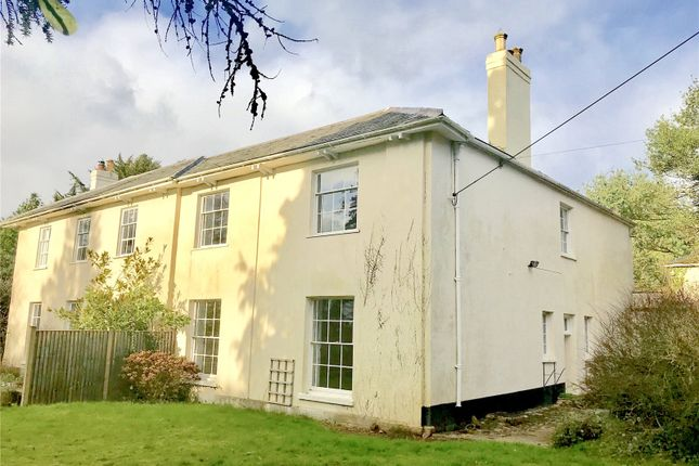 Thumbnail Semi-detached house to rent in The Old Vicarage, Broadhembury, Honiton, Devon