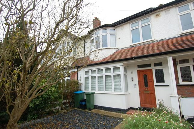 Thumbnail Terraced house for sale in Orchard Road, Hampton