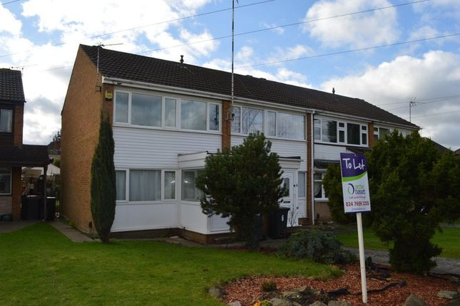 Thumbnail Terraced house to rent in Ashford Drive, Bedworth, Warwickshire