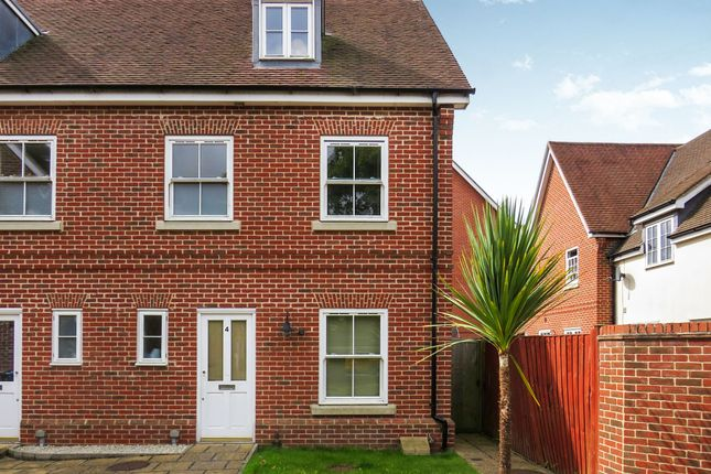 Thumbnail End terrace house for sale in Library Mews, Rendlesham, Woodbridge