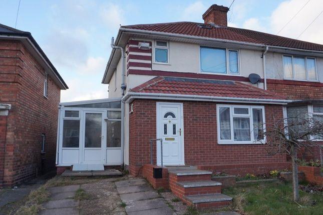 Thumbnail Semi-detached house for sale in Tottenham Crescent, Kingstanding, Birmingham