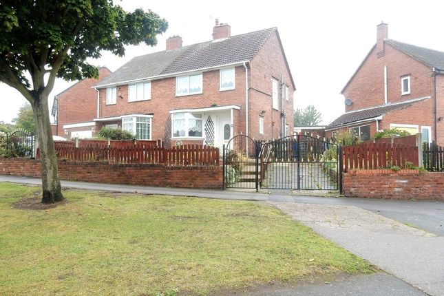 Semi-detached house for sale in Shrewsbury Road, Worksop