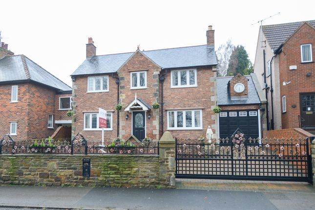 Thumbnail Detached house for sale in Holymoor Road, Holymoorside, Chesterfield