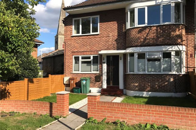 Thumbnail Flat for sale in Queens Close, Wallington