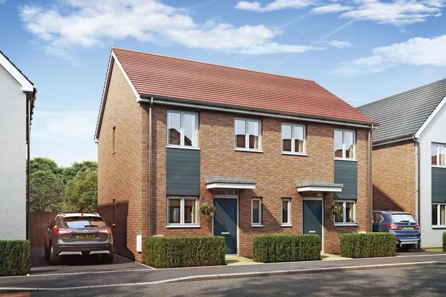 Thumbnail Town house for sale in The Alban, Boothen Old Road, Stoke On Trent