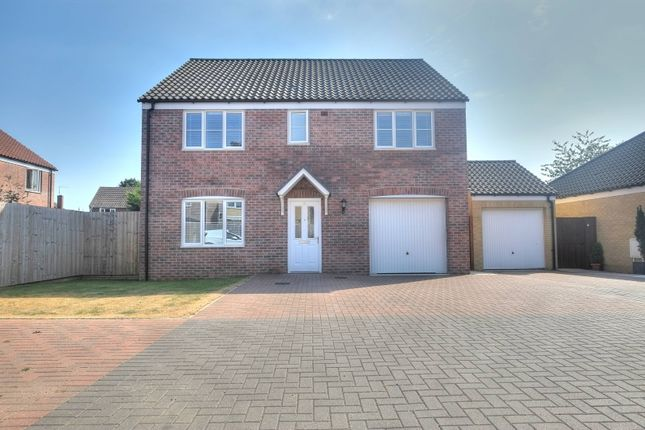 Thumbnail Detached house for sale in Memorial Way, Lingwood, Norwich