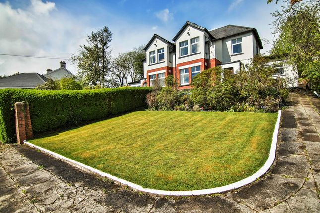 Thumbnail Detached house for sale in Cilsanws, Cefn Coed, Merthyr Tydfil