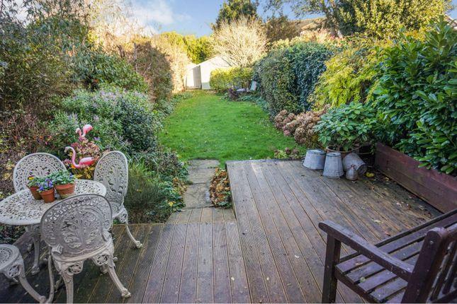 Rear Garden of Links Avenue, Felpham, Bognor Regis PO22