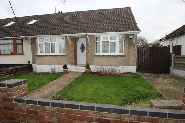 Thumbnail Semi-detached bungalow for sale in Kents Hill Road, Benfleet