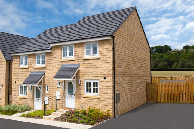 """Thumbnail Semi-detached house for sale in """"Barwick"""" at North Dean Avenue, Keighley"""