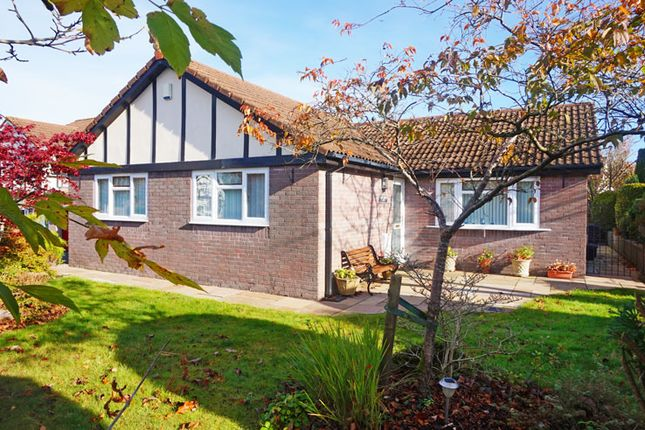 Thumbnail Detached bungalow for sale in The Hollies, Quakers Yard, Treharris