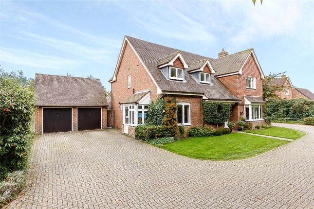 Thumbnail Detached house for sale in Sarum Close, Winchester, Hampshire