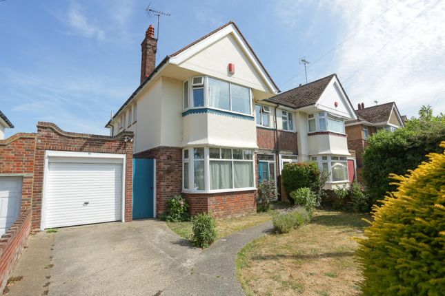 Thumbnail Semi-detached house for sale in Northumberland Avenue, Cliftonville, Margate