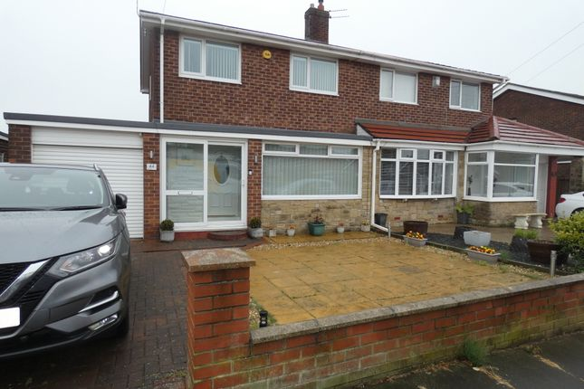 Thumbnail Semi-detached house for sale in Acomb Avenue, Seaton Delaval, Tyne & Wear