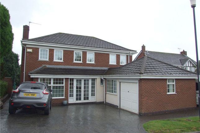 Thumbnail Detached house for sale in Caversfield Close, Littleover, Derby