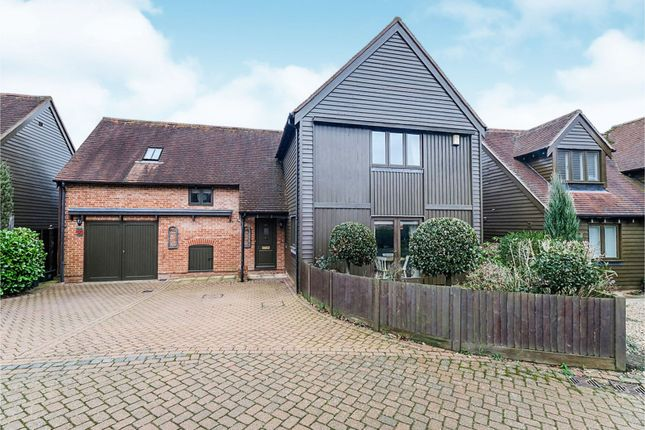 Thumbnail Detached house to rent in Hildenbrook Farm, Riding Lane, Sevenoaks